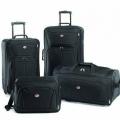 American tourister: чемодан на колесиках. сочетание стиля и практичности.