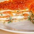 Блинные пироги: рецепты приготовления