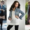 Что носить с джинсовой курткой: следуем за модными тенденциями