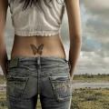 Что означает татуировка бабочка?