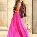Длинная юбка. с чем носить ее? секреты сочетания