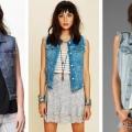 Джинсовая жилетка - модный и современный атрибут в любом гардеробе