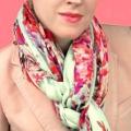 Как красиво завязывать шарф палантин?