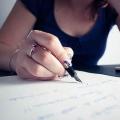 Как написать бывшему?