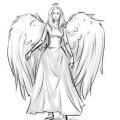 Как нарисовать ангела поэтапно?