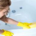 Как почистить ванну?