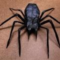 Как сделать паука из бумаги?