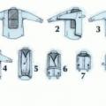 Как складывать рубашку с минимальным количеством складок?