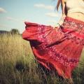 Как сшить юбку-солнце?