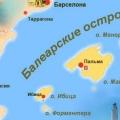 Какие острова принадлежат испании?