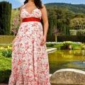 Летние платья для полных женщин. модели летних платьев для полных женщин (фото)
