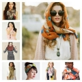 Несколько способов, как красиво завязать шарф