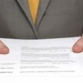 Образец резюме - помощник в поиске работы