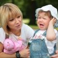 Почему капризничает ребенок?