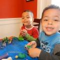Поделки из пластилина дома и в детском саду