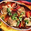 Рыба, запеченная с овощами: несколько рецептов