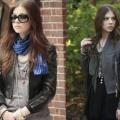 С чем носить кожаную куртку черного цвета?