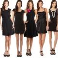 С чем одеть черное платье: от классики до современности