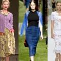Самые модные модели юбок