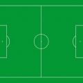 Стандартный размер футбольного поля