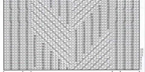 Как читать схемы вязания?