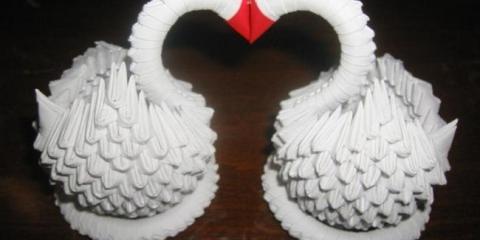 Как из бумаги сделать лебедя: практические советы
