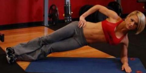 Как накачать мышцы живота?