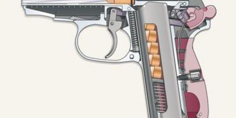 Как пистолет стреляет?