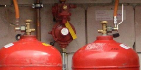 Как подключить газовый баллон?