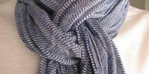Как завязать красиво шарф?