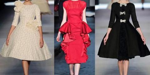 Какие модные платья?