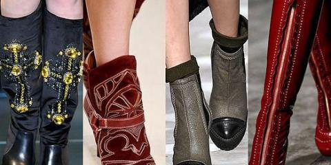 Какие сапоги в моде?