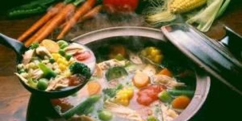 Легкие диетические первые блюда: рецепт овощного супа